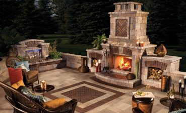 Exquisite Modern Outdoor Fireplace Of Exteriors Eyecatching Fireplaces Turn The Patio