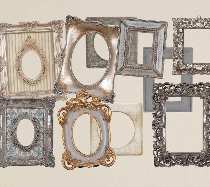 Extraordinary Picture Frames Antique Style