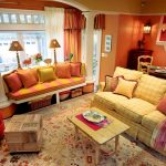 Fascinating Brown And Orange Decor Of Decorative Pillows