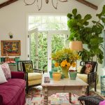 Fascinating Cottage Interior Paint Color Schemes Of Take Peek Inside This Colorful Home Decorating