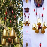 Feng Shui Garden Decor Of Amazing Copper Wind Chimes Bells Pentagon