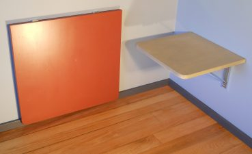 Foldable Wall Table Of Eureka A And Canada Space Saving