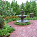 Fountain For Front Yard Of Beautiful Kansas City Garden
