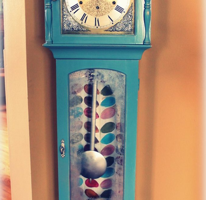 Funky Grandfather Clock Of Art Is Beauty Grandmother Reveal Wild