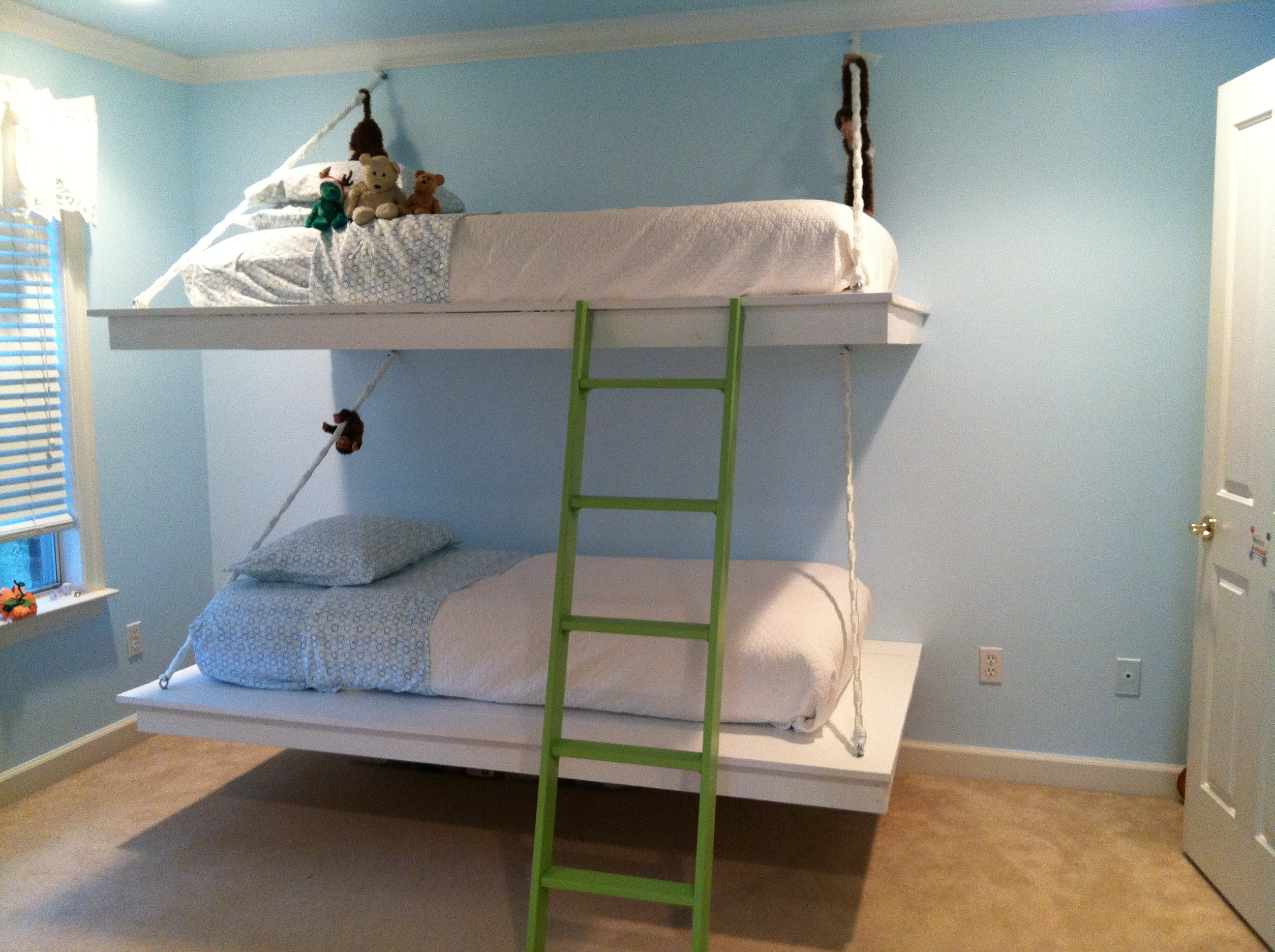 Hanging Bef Of Ana White Bunk Beds Diy Projects Trends Acnn Decor