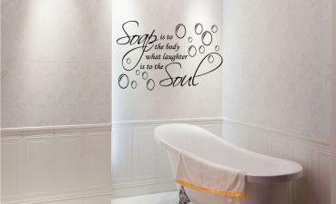 Impressing Designer Wall Accents Of Image Of Contemporary Decals Bathroom