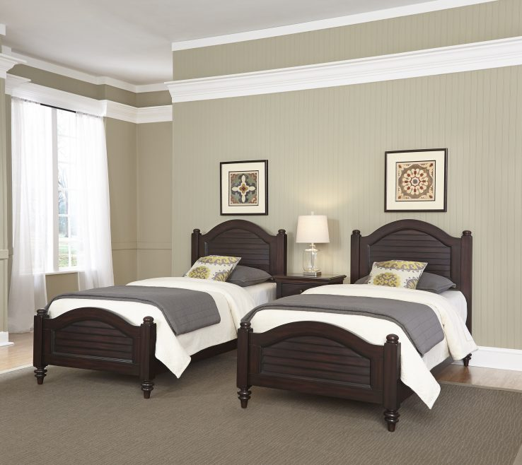 Impressing Small Twin Beds Of Awesome Two Bed Home Style Bermuda Espresso