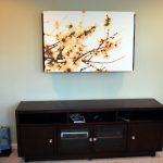 Impressive Hide Tv On Wall E An Art Canvas To Cover A