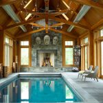 Indoor Outdoor Pool Enclosure Of Timber Frame Barn Builder Maine Horse