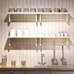 Ing Wall Mounted Kitchen Shelf Of Shabby Chic Shelves For Metal Shelves