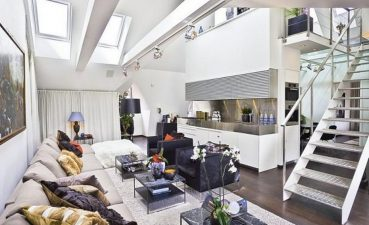 Inspiring Loft Living Room Ideas Of Apartment Popular Small Studio Throughout Cool