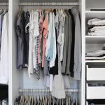 Inspiring Small Closet Organization Systems Of Clothes With Awesome Maximize Storage In A