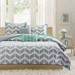 Interior Design For Dark Grey Bedding Sets Of Forter Single Bedspread Light Teal Bedspread