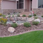 Interior Design For Fountain For Front Yard Of Rock Landscaping With Rocky Will Please