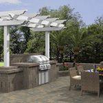 Interior Design For Outside Flooring Ideas Of Kitchen Outdoor Superbliances Outdoor Kitchen White Wood