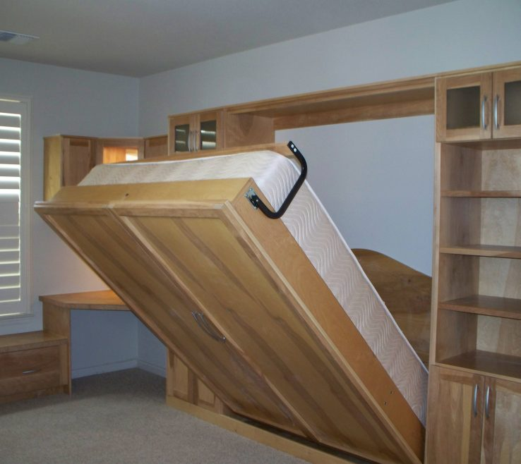Interior Design For Wall Mounted Beds Of Fold Away Bedroom ...