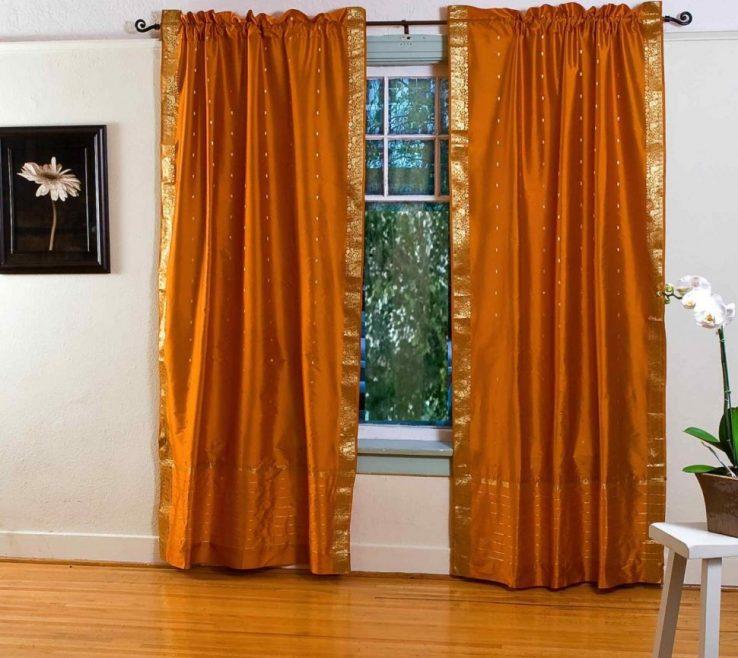 Likeable Curtains For Orange Walls Of Medium Size Of Modern Kitchendecorating