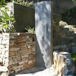 Likeable Outdoor Shower Floor Ideas