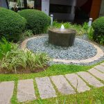 Lovely Fountain For Front Yard Of Iary Garden And Idea Landscaping landscaping