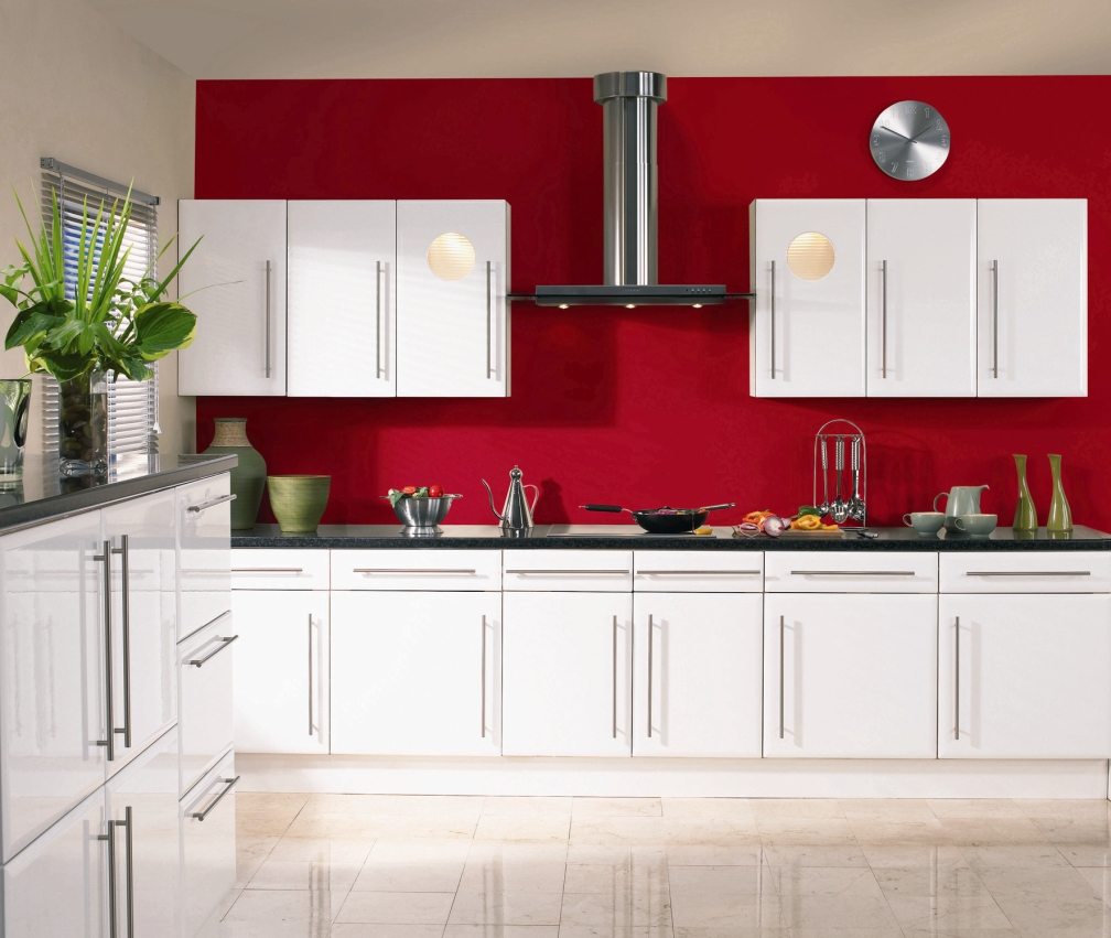 Lovely Red Kitchen S Of Elegant Ideas With White Door Replacement Acnn Decor
