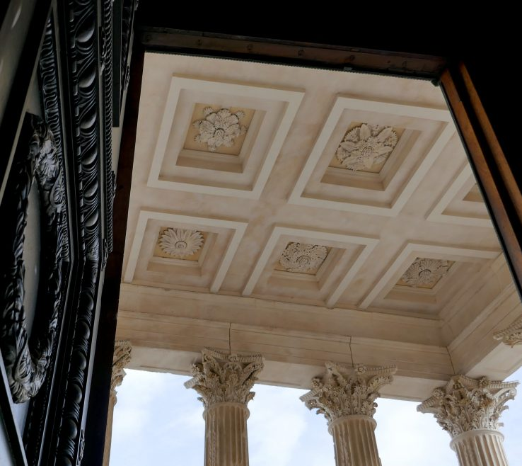 Lovely Wooden Columns Interior E Of Architecture Structure Wood Window France Ceiling Column