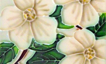 Mesmerizing Decorative Ceramic Wall Tile Of Conceptreview Dogwood Flower ArtHome Andamp