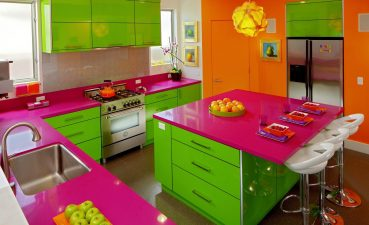 Mesmerizing Lime Green Kitchen Walls Of Bo With Pink For Color