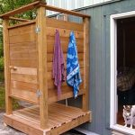 Mesmerizing Outdoor Shower Cabin