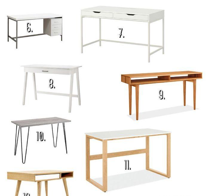 Mesmerizing Types Of Modern Furniture Of Office Desk
