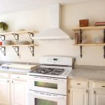 Mesmerizing Wall Mounted Kitchen Shelf Of Shelves
