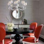 Modern Wall Decoration Ideas Of Funky Dining Room Design
