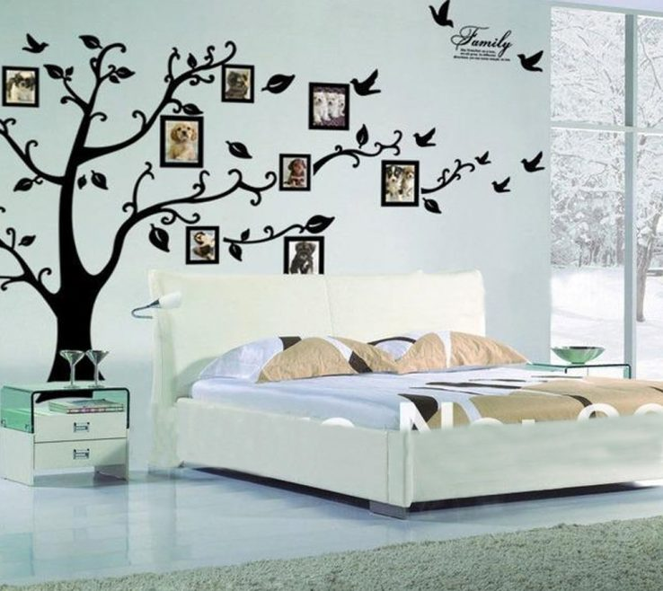 Nice Wall Painting Design Of Elegant Designs To Adorn Your Bedroom