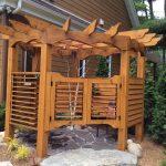 Outdoor Shower Cabin