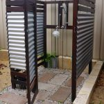 Outdoor Shower Floor Ideas Of Patio Kitchen Small Trial Backyard Brick