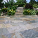 Outside Flooring Ideas Of Pavers Golden White Stone Tiles Patio Design Outdoor Tiles