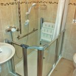 Picturesque Bathrooms For Disabled Persons Of Level Access Shower