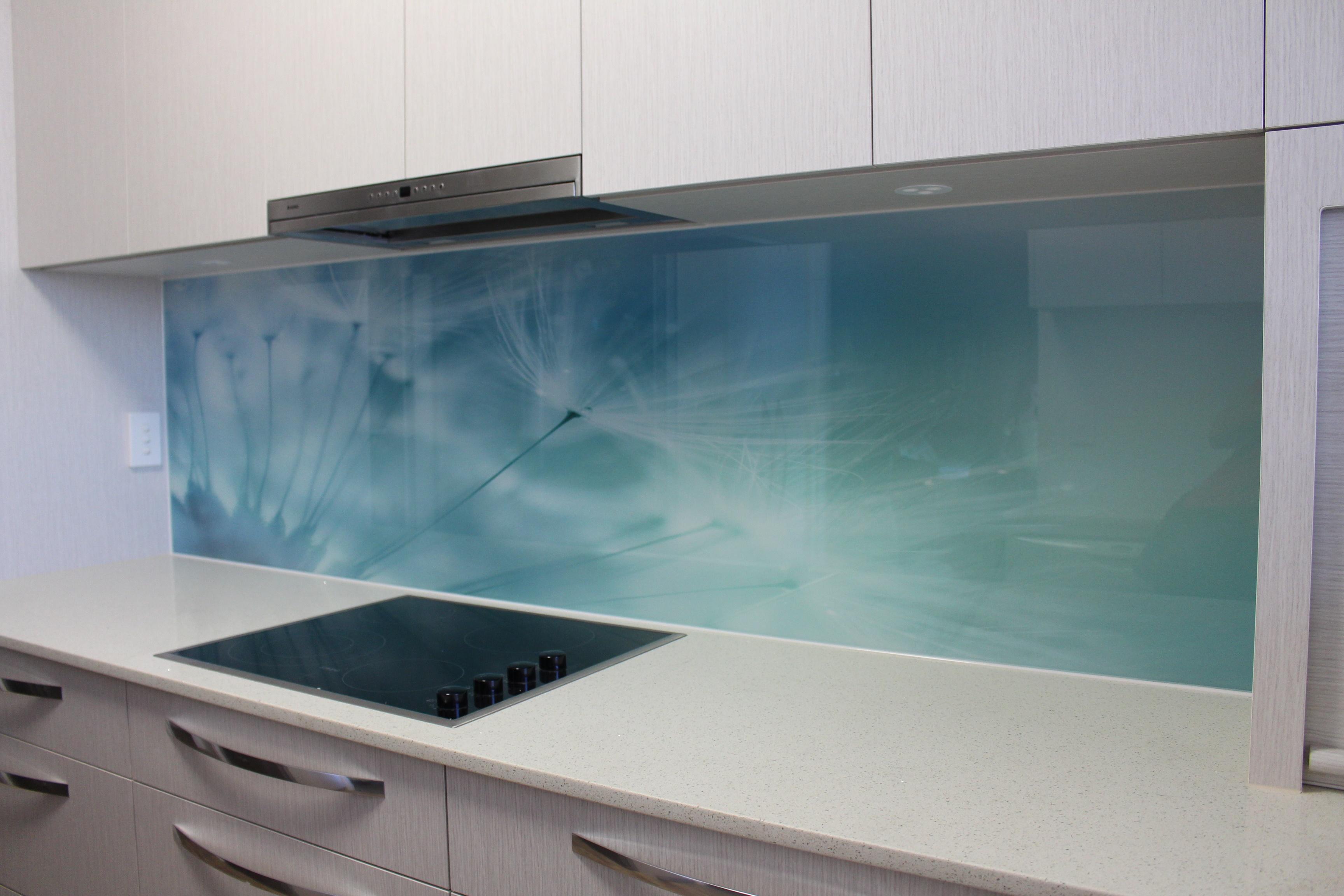 Image of: Printed Glass Backsplash Of Photo Acrylic Kitchen Splashbacks Kitchen Wall Panels Acnn Decor