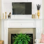 Remarkable Hide Tv On Wall Of How To Cables With Affordable Molding