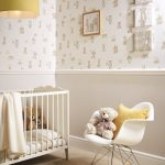 Remarkable Kids Room Wallpaper Ideas Of Cute Teddy Bear Perfect For A Nursery