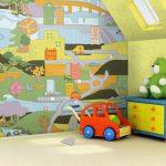 Sophisticated Kids Room Wallpaper Ideas Of Baby Nursery Mervin Diecast