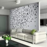 Terrific Designer Wall Accents Of Contemporary Decor For Living Room Black Wood