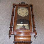 Terrific Funky Grandfather Clock Of Antique Wall Clock