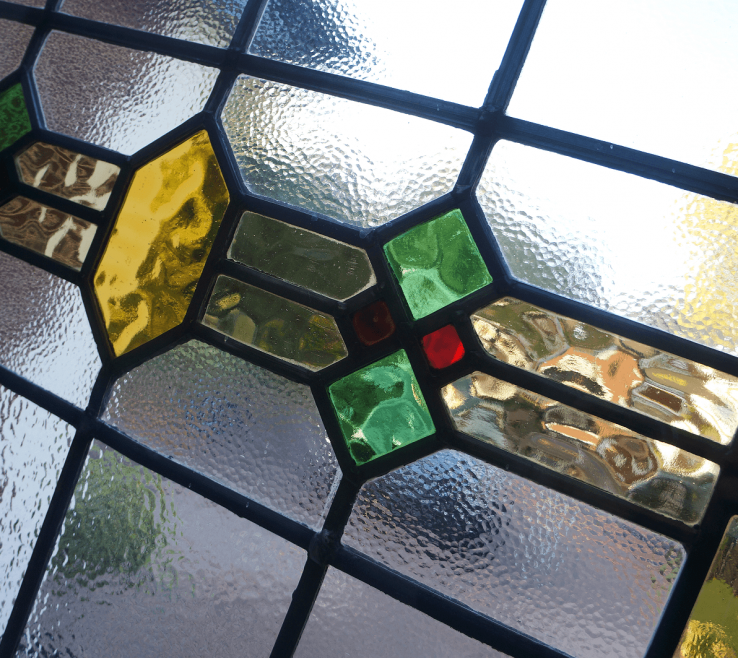 Terrific Stained Glass Designs For Windows Of Coloured Design Timber Entrance Door