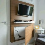 Unique Hide Tv On Wall Of Great Way To The Cables