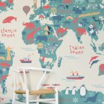 Unique Kids Room Wallpaper Ideas Of Playroom Play Rooms Child And Beautifully Trated