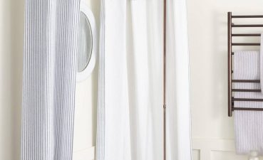 Unique Window Treatments Of Ual And Beautiful Gray Bathroom Shower Curtains