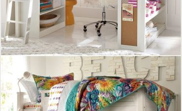 Vanity Beds For Small Spaces Of Amazing Kids Room Loft Bed Kidsroom