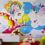 Vanity Kids Room Wallpaper Ideas Of Popular