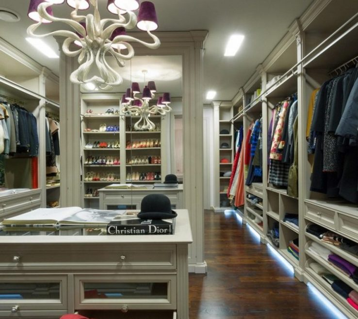 Walk In Closet Ideas Of Glazed Ry Is The Centerpiece Of This
