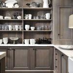 Wall Mounted Kitchen Shelf Of Open Shelves Design With Open Shelves